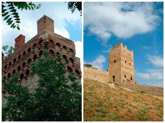 Достопримечательности Крыма: Башня святого Константина