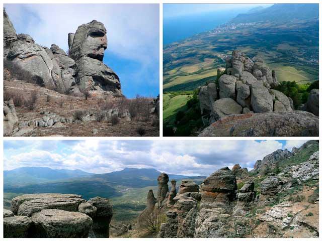 Достопримечательности Крыма: Долина Приведений