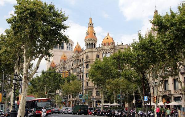 Барселона в сентябре