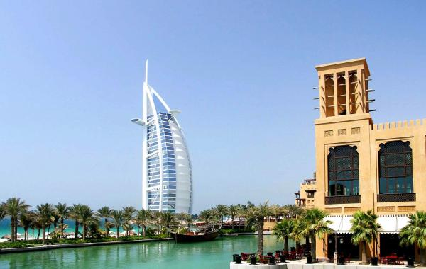 Дубай в марте