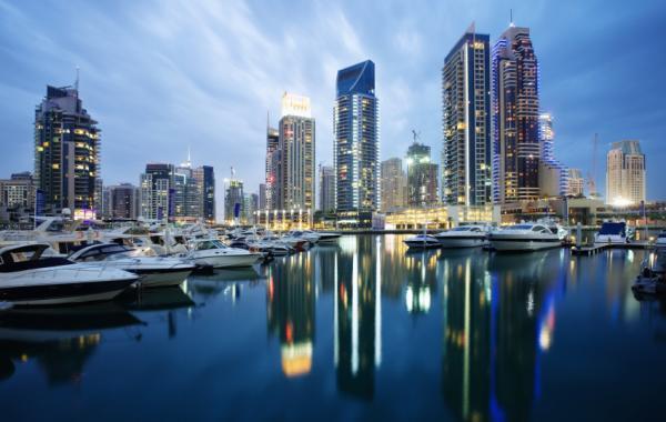 Дубай в январе