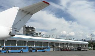 Самарский аэропорт обслужил 1,44 мил пассажиров