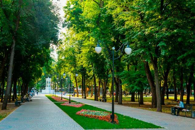 парки воронежа фото с описанием