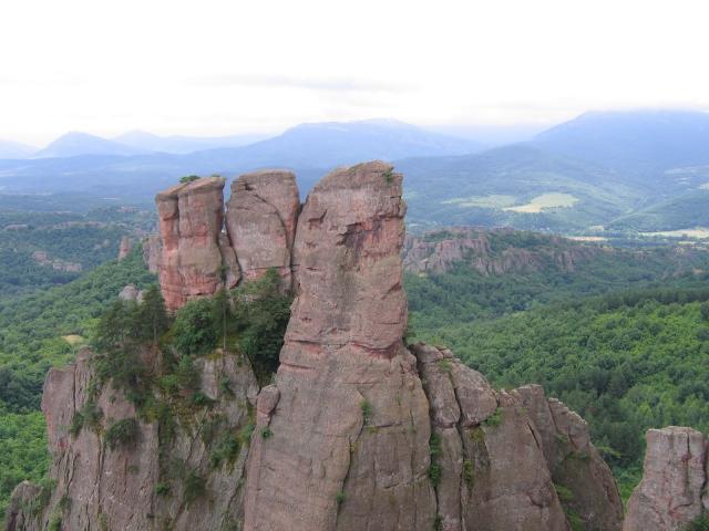 Причудливые горные вершины