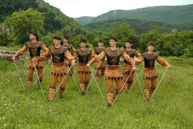 Фольклорный фестиваль на Балканах