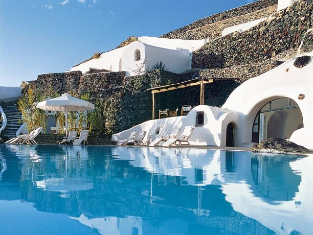 Фешенебельный отель в Греции
