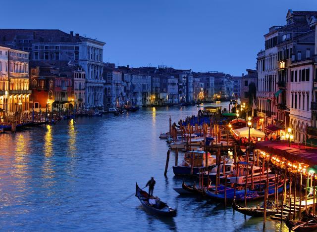 Венеция, город романтики и любви