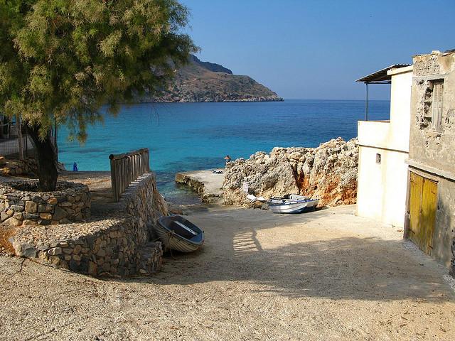Критские пейзажи словно нарисованные