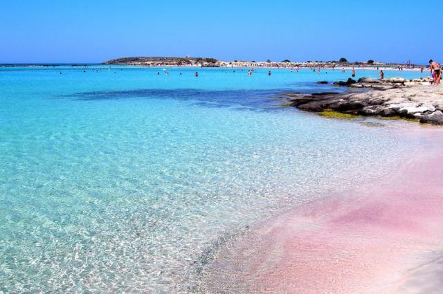 Критские пляжи необыкновенные