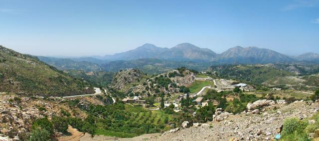 Горные вершины Крита
