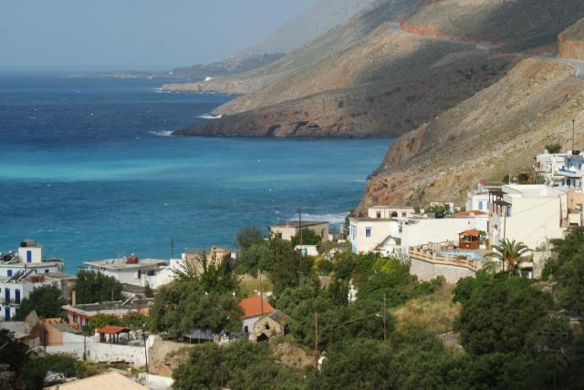 Живописный пейзаж Средиземноморского региона
