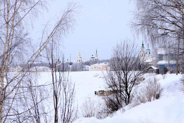 Зима в России