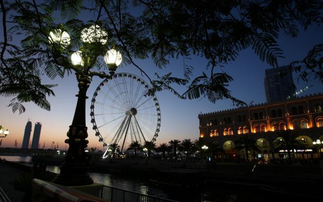 Ночная прохлада в Эмиратах