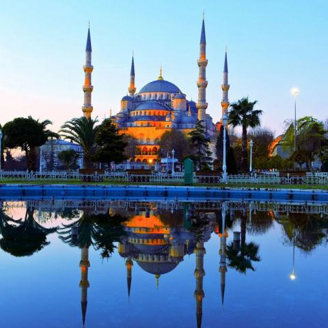 Визитная карточка Стамбула: мечеть Айя-София