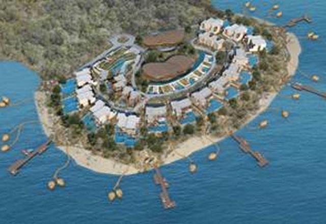 Один из многочисленных турецких курортов