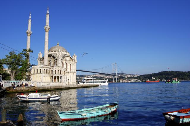 Ласковое море у берегов Турции